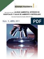 Calidad Ambiental Al Interior en Hospitales y Salas de Ambiente Controlado