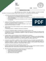 COMPROBACIÓN DE LECTURA I