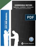 Franklin Submersible Motor Manual