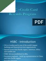 HSBC Credit Card Rewards Program