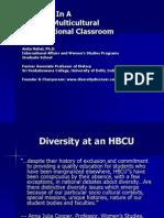 Teaching in Multicultural Classrm