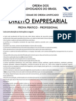VIII Exame Empresarial - Segunda Fase