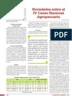 Novedades Sobre El Censo Nacional Agropecuario