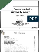 2011 GPD Citizen Survey Report