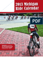 2013 Michigan Ride Calendar