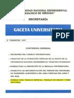 Normas Para El Trabajo Especial de Grado y Tesis Doctorales II TRIMESTRE 1997