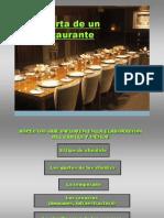 La Carta de Un Restaurante (PPTminimizer)