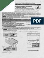 GRLP3 LP Conversion Kit Instructions