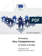 Formarea Competentelor Cheie in Europa