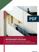 Bdo Fis Novedades Fiscales 2013