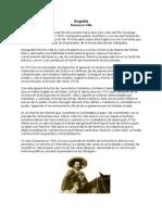 Biografía Francisco Villa