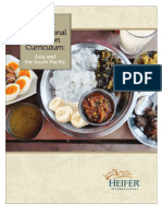 Nutrition Curriculum for Asia & the South Pacific