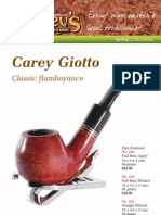Carey's Pipe & Tobacco Shop Catalogue 112 Spring 2013