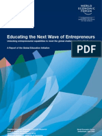 Entrepreneurship Education Report