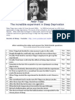 peter tripp video worksheet