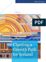 Charting a Growth Path for Iceland,  Mckinsey  Report