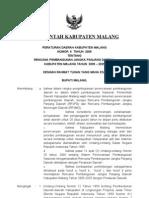 Perda Kab Malang No 06 Tahun 2008 RPJPD Kab Malang 2005 – 2025