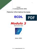 [ECDL] Modulo 3_Tutto