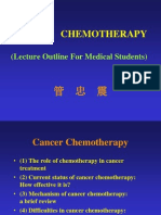 cancer chemotherapy