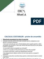 EBCL-CALCULATIA COSTURILOR - Prezentare Pentru Cursanti