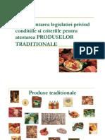 Atestare produse traditionale