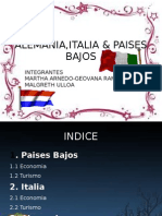 Alemania,Italia & Paises Bajos