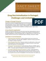 Office of National Drug Control Policy Fact Sheet - Drug Decriminalization Portugal