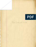 Cardinal Guild Minutes (first section), 1904