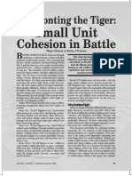 Confronting the Tiger - Small Unit Cohesion in Battle - Robert J Reilly - 91637655-Small-Unit-Leadership