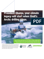 USA Today Arctic drilling ad