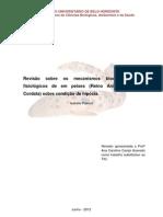 Revisão sobre os mecanismos bioquímicos e fisiológicos de em peixes (Reino Animália, Filo