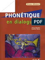 Cle International Phonetique en Dialogues Niveau Debutant