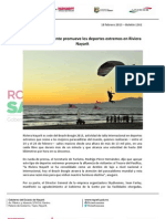 18-02-13 Boletin 1361 Gobierno de la Gente promueve los deportes extremos en Riviera Nayarit