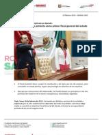 18-02-13 Boletin 1363 Edgar Veytia rinde protesta como primer fiscal general del estado