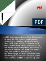 PPT on Pen