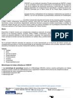 Programacion Seminarios - CENCAP 2013