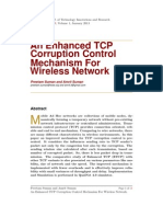 An Enhanced TCP Corruption Control Mechanism For Wireless Network
