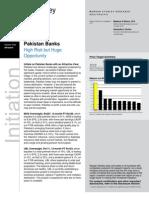 Morgan Stanley Pak Bank Initiation