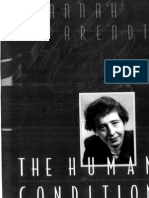 hannah arendt - the human condition