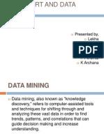 Data Mart and Data Mining