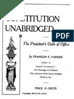 Unabridged Constitution