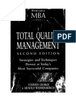 Mba Total Quatily Management