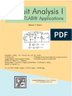 Circuit Analysis I With MATLAB