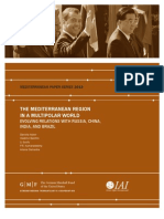 The Mediterranean Region in a Multipolar World