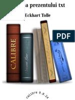 Puterea Prezentului Txt - Eckhart Tolle