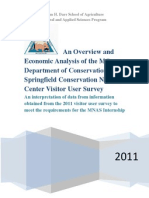 an overview and economic analysis of the mo department of conservation