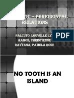 Endodontic – Periodontal Relations