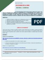 Webquest Materia