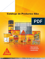 Catalogo Productos Sika 2011