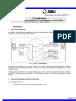 Procedimiento Config Smart Class JDSU